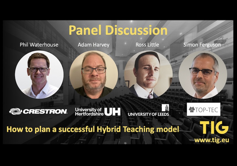 TIG Panel Discussion: How to plan a successful Hybrid Teaching model